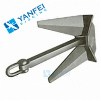 Different Size Marine Hardware, Steel Boat Anchor