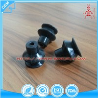Black Small Suction Pad Epdm Rubber Suction Cups