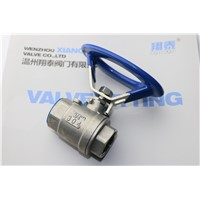 Stainless Steel Oval Ball Valve, Round Handle Ball Valve