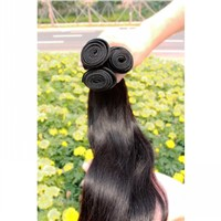 Brazilian Virgin Remy Hair Weft with Natural Color Can Be Dyed & Bleached Last 2~3 Years