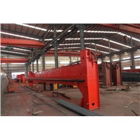 High Availability Workshop Used QD Type Double Beam Bridge Crane 16/3.2 t