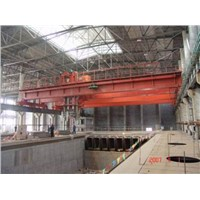 Hot Selling High Availability QD Type Double Beam Bridge Crane 16/3.2 t