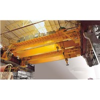 High Efficeincy QD Type Double Girder Overhead Crane 16/3.2 t