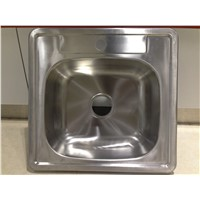 Large Bowl Satin Kitchen Sink without Faucet WY-2120
