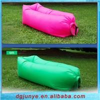 Outdoor Nylon Inflatable Lazy Sleeping Sofa Bag