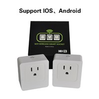 Smart WiFi Energy Saving Outlet Electric Plug with Timer