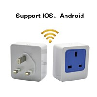 HuaFan QinLu Wi-Fi Smart Socket UK Plug Outlet Remotely Control Power Counting