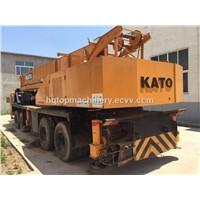 Used Truck Crane Kato NK-500 Cheap Price Crane Truck