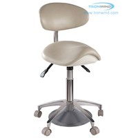 Foot Activated Saddle Chair TS07, Foot Control Chair, Saddle Chair, Dnetal Stool, Operating Stool