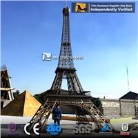MY DINO-EC003 Simulation Miniature Park Sculpture Eiffel Tower for Sale