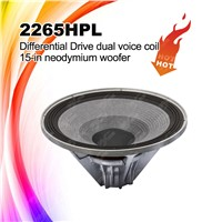 2265HPL 15'' Neodymium Speaker Woofer