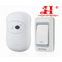 Honfeiga 105T1R1 Wireless Door Bells with Stereo Speaker, 36 Music, 280 M Remote Distance, USD4/Pcs Only