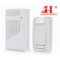 Honfeiga 307T1R1 Wireless Door Bells with Stereo Speaker, 36 Music, 280 M Remote Distance, USD4/Pcs Only