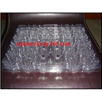 Sales Promotion Economical Strong PVC 30 Cavities Egg Pack with Separate Cover
