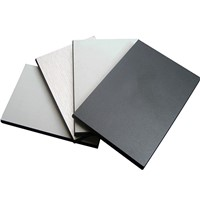 Grey Color Melamine Resin Compact Laminate Board