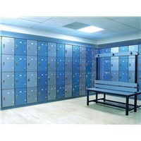 4 Tier 8 Compartments Used School Lockers for Sale