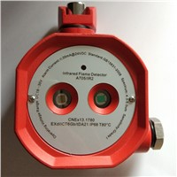 Dry Contact Explosion-Proof Double Infrared Flame Detector IR Flame Alarm Relay Output EXdIICT6