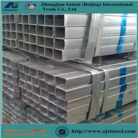 Fencing Mild Carbon Square Welded Galvanized Steel Rectangle Tube