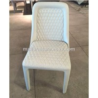 Bentely Same Item Full Real Leather Dining Chair Dining Room Fabric Dining Chair Morden Micro Fiber Dining Chair