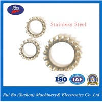 Fastener Stainless Steel DIN6798A External Serrated Lock Washer with ISO