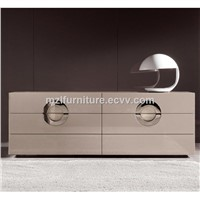 Minotti Same Item Solid Wood Frame Nightstands Bedroom Furniture Nightstands High Night Baking Finish Nightstands