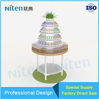 Store Interior Design Cosmetic Tower Display Opi Nail Polish Display Rack