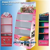 Custom Cardboard Grocery Merchandise Display Shelves for Sale