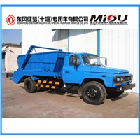 Chinese Products Dongfeng Skip Loader Garbage Bin Trucks