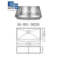 Stainless Steel Sink with Apron Big Bowl