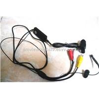 700tvl High Resolution Body Worn Cameras, 1/3'' Sony CCD Body Worn Cameras 12mm Pinhole Lens