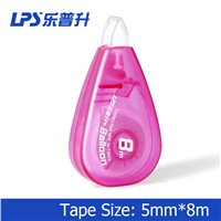LPS Stationery Supplies Water Drop Shape Colored Correction Tape No. T-90214