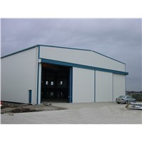 Long Span Prefabricated Steel Structure Workshop
