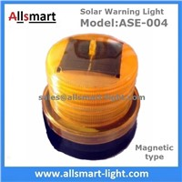 Amber Yellow Color Solar Powered Magnetic Flashing Beacon Floating Barrel Lights Buoy Signal Lights Offshore Lights