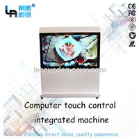"LASVD 65"" Capacitive IP65 Waterproof LCD Touch All in One TV PC Computer Widely Used in the Conference Room"