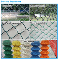 PVC Coated Chain Mesh Fence (Diamond Wire Mesh) Chain Link Fence