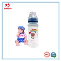 Wide Neck PP Baby Bottles for Feeding Babies