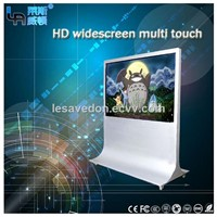 LASVD 84 Inch LED Scren 3d Monitor 4k Monitor LCD Interactive Win7/8/10 Os Stand TV