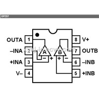 OP297FPZ ADI (Low Bias Current Precision (Dual) Operational Amplifier)