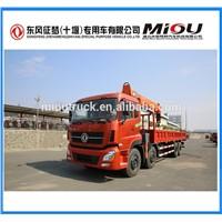 Dongfeng 16 Ton Lifting Weight Truck Crane Wheel Type Mounted Crane