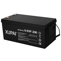 12V 200ah Xupai Lead Acid Battery Pack for Electric Vehicle 6-Evf-200