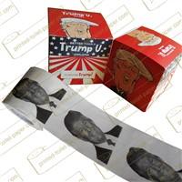 Trump Toilet Tissue Paper Printed