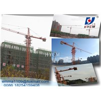 4t QTZ4208 Smalll Tower Crane with Cat Head for Construction Buildings