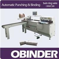 Automatic Book Punching & Binding Machine