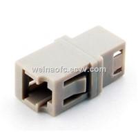 Optical Fiber Adaptor LC-LC Simplex Beige Housing
