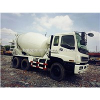 Used Mixer Truck, Second-Hand Concrete Truck, Cheap Agitating Lorry