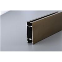 6063 T5 Anodized & Powder Coated Aluminum Profiles