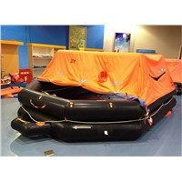 6 Person Marine Throw-Overboard Inflatable Life Raft