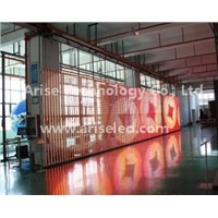 SMD LED Mesh & Dance Floor Curtain LED Display P4.81mm P5.68mm P6.944mm P7.8mm P12.5mm