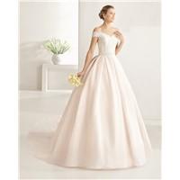 2017 Latest Design off Shoulder a Line Wedding Dress