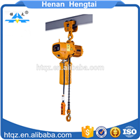 10 Ton Construction Electric Chain Hoist with Elelctric Trolley Chain Pulley Block